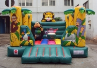 Safari bouncy castle