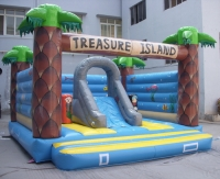 Bouncy castle Island