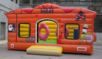 Bouncy castle farm
