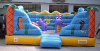 Bouncy castles fondo marino inflatabes