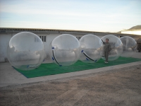 Inflatable aquatic areas