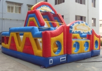 Slide Inflatable double circuit