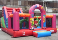 Inflatable slide ludoteca
