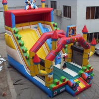 Fantasy inflatable slide
