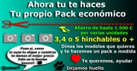 Pack Hinchables 3