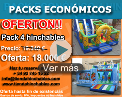 Discount packs economic inflatable