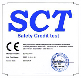 Certificate EN 14960 Homologation inflatable rules, European Union certified