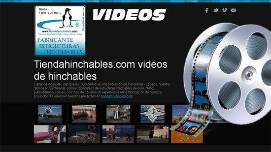 Videos de hinchables